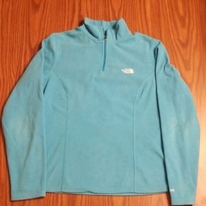 North face tka100 Fleece 1/4 zip medium